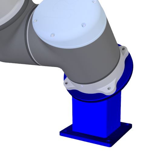 collaborative robot base parts and accessories