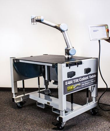 tilt cobot robot arm table