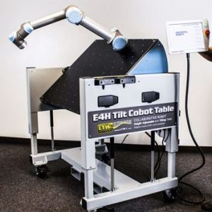 e4h tilt cobot end of arm table